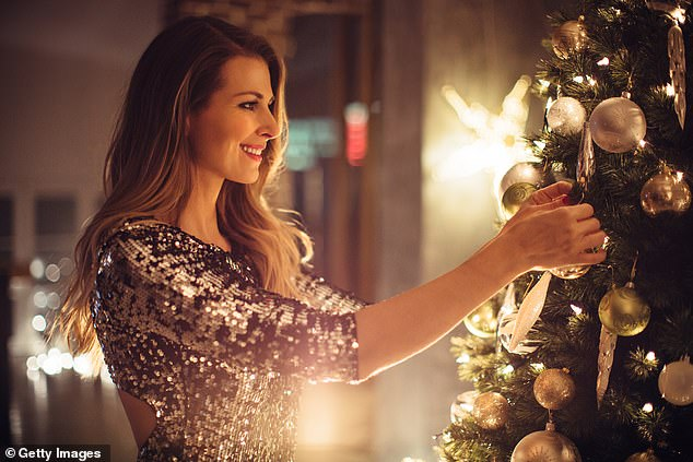In order to impress your 'bubble' this Christmas, FEMAIL has enlisted the advice of interiors experts to help you dress your tree in style. Stock image