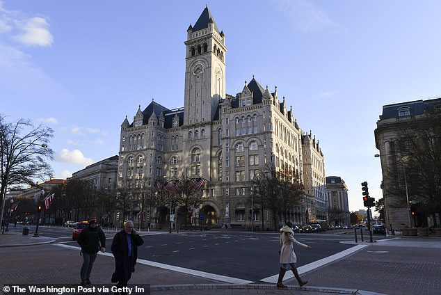 The Trump hotel, in Washington DC, was where Maldonado-Passage's team spent wildly