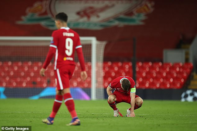 Two second-half goals consigned a much-changed Liverpool side to a rare defeat at Anfield