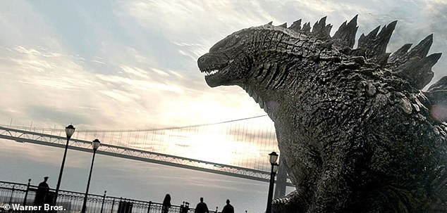 Box office hit:2014's Godzilla earned $200.6 million domestic and $524.9 million worldwide, with China's $77.6 million tally the biggest foreign market, by far