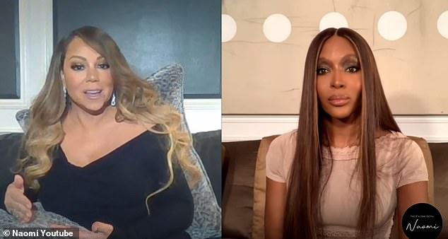 Niño triste: Hablando con Naomi Campbell, de 50 años, en su serie de YouTube No Filter With Naomi, Mariah dijo: 'Yo era un niño triste que quería que la Navidad fuera genial.  Quería una familia real que se preocupara por mí.  Quería que se preocuparan y que no lo arruinaran y lo arruinaban todos los años ... '