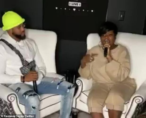 Faith: The couple made the announcement during an Instagram live, in which the 36-year-old singer spoke about her struggle to conceive and how she turned to the Bible and God's help.