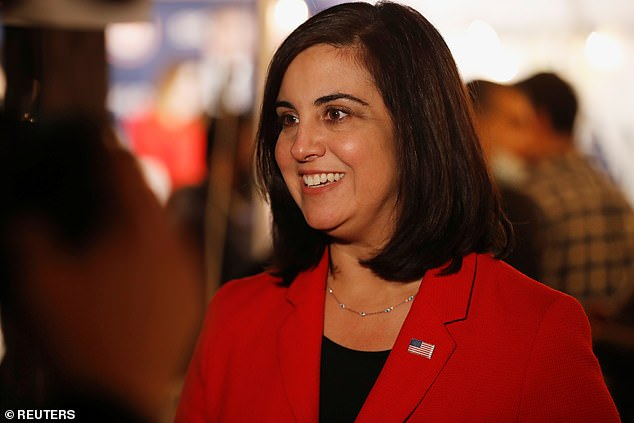 Malliotakis, a New York native, is the daughter of immigrant parents, born to a Greek father and Cuban mother. She defeated incumbent Democrat Rep. Max Rose in the election