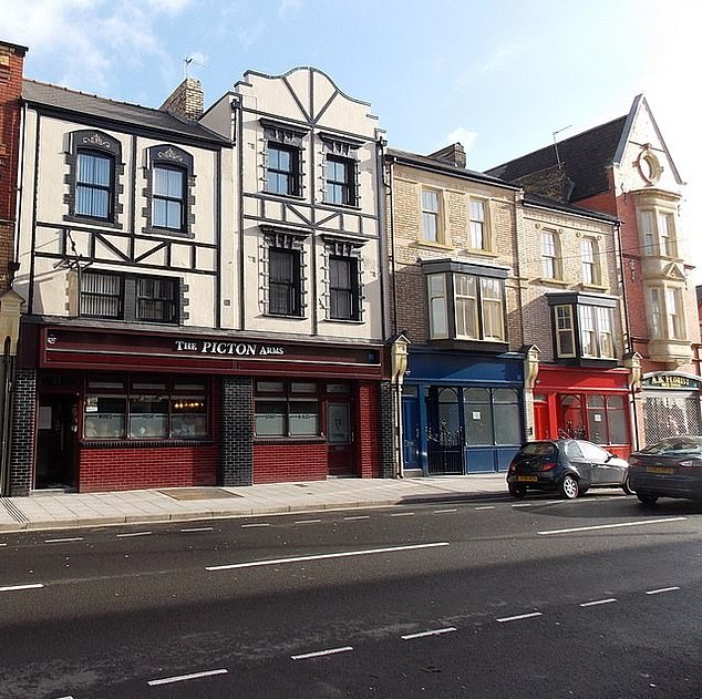 The Picton Arms in Newport, named after Sir Thomas Picton, a Waterloo hero also known as the Tyrant of Trinidad