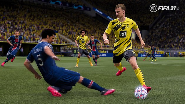 FIFA 21 hit the shops in October as the latest iteration of EA Sports' flagship franchise