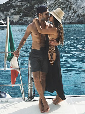 Spanish middleman Michael Saiger (pictured on a yacht with his girlfriend) received £21m in taxpayers' cash