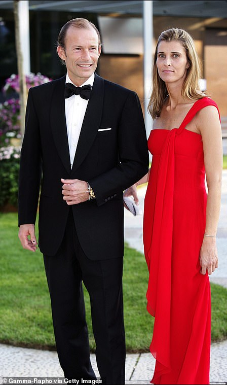 The couple at a black tie event in 2006