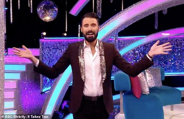 'If it happens next year, fantastic': In an exclusive interview, the TV presenter said he's 'sure it won't be the last time' Strictly welcomes a same sex partnership on the show