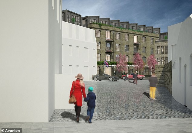 South London's answer to Eton?Pictured, an artist's impression of what the school, set to be open by 2021, could look like