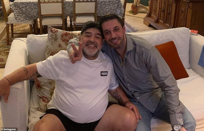 Maradona and lawyer Matias Morla, who today claimed that the football legend was left for 12 hours without help at some point before his death