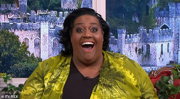 Speaking out: Alison Hammond has seemingly had her say on the ongoing This Morning team drama, sharing a telling message on Instagram on Thursday