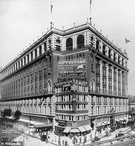 Macy's was originally a dry goods store known as R. H. Macy & Co, that opened its first location in New York City on 14th Street in 1858. In 1902 the store moved 20 blocks north to a new flagship location on 34th Street (above), which at the time, was considered so remote they had to provide a steam wagonette to transport customers to and from lower Manhattan. In 1924, Macy's officially became the 'World's Largest Store' with 1.1 million square feet of retail space, that covers an entire city block
