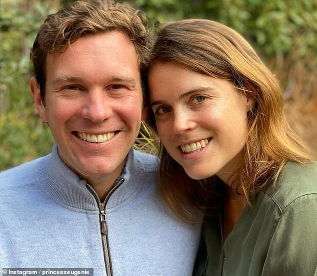 Pregnant Princess Eugenie, 30, has said she is thankful for frontline workers, her husband Jack Brooksbank, 34, and nature, in a heartfelt Thanksgiving post on Instagram