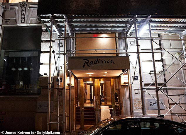 The men will now be moved to the former Radisson Hotel in the Financial District neighborhood, which is being turned into a permanent homeless shelter