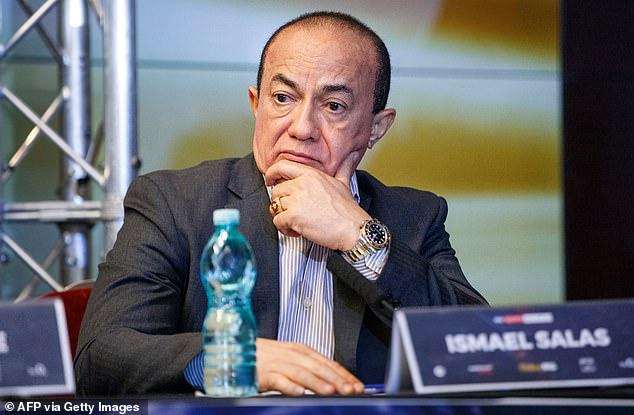 Trainer Ismael Salas has tested positive for coronavirus and has left Joe Joyce's fight camp