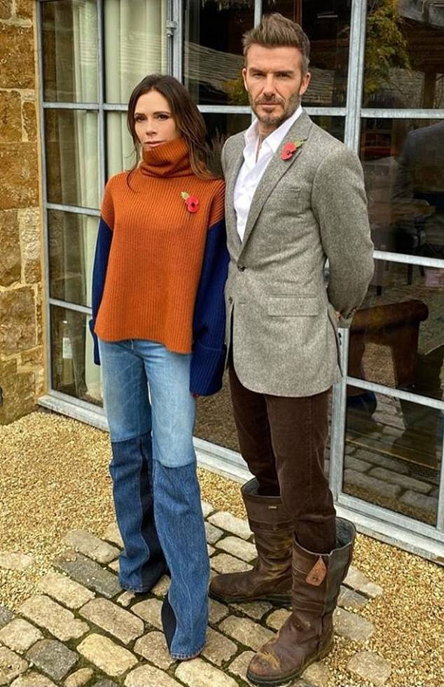 Yikes! David, 45, and Victoria Beckham, 46, are in a NEW war with their neighbours, who fear the couple want to 'race speed boats' amid plans to enlarge the lake at their Cotswolds home