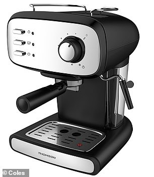 The range will include affordable big ticket items such as an espresso machine