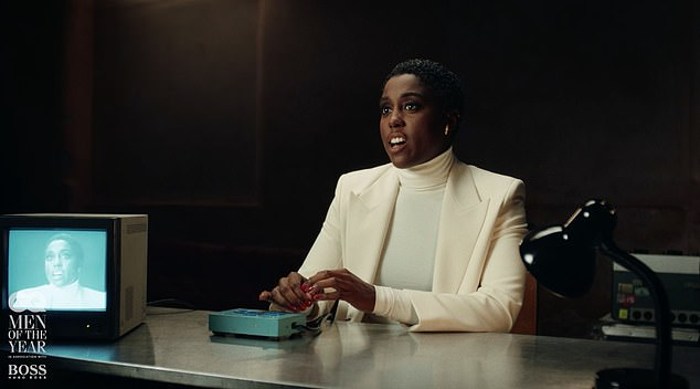 No Time To Lie! Lashana Lynch, 32, was interrogated while taking part in a James Bond skit as she won Breakthrough Actress at theGQ Men Of The Year Awards 2020, on Thursday