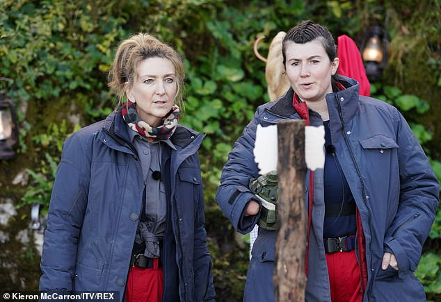 Challenge:Also during Thursday's episode, Victoria and Hollie took part in the Castle Coin Challenge called Finish The Fairytale