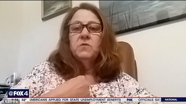 Delynda Cruz of Hill County, Texas, says at least 42 people, including herself, contracted COVID-19 at the funeral, which became a 'superspreader event'