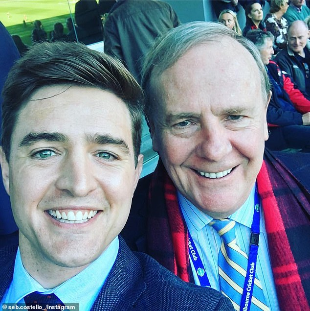 'It's not ideal': Seb, who is the son of Nine chairman and former Australian Treasurer Peter Costello, had addressed the Twitter scandal on Triple M's Hot Breakfast radio show on September 17