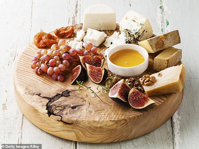 François said honey is a great ingredient to include because it 'will transform the flavour of your blue cheese especially' and he never forgets about the salted butter (stock image)