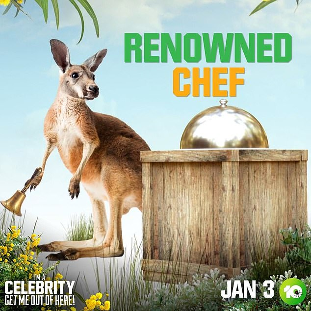 Hmm! On Friday, Channel 10 released a new clue about a mystery celeb set to appear on the program, teasing the involvement of a 'renowned chef'