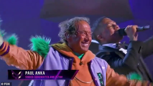 The Masked Singer: Paul Anka is revealed as the Broccoli