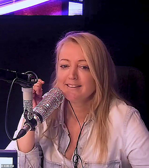 Candid: On Wednesday, radio host Jackie 'O' Henderson spoke about her 'fluctuating weight' and admitted she was struggling to lose the kilos she'd gained during lockdown