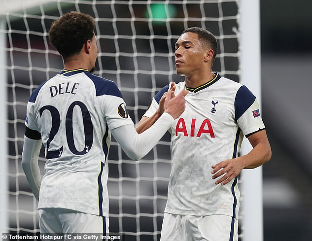 Alli impressed for Spurs and he supplied an assist forCarlos Vinicius to score in 4-0 victory