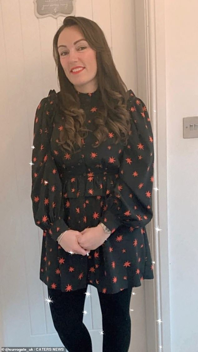 Lisa (pictured), 33, from Birmingham,has spoken out about the heartbreak she has experienced during 27 miscarriages