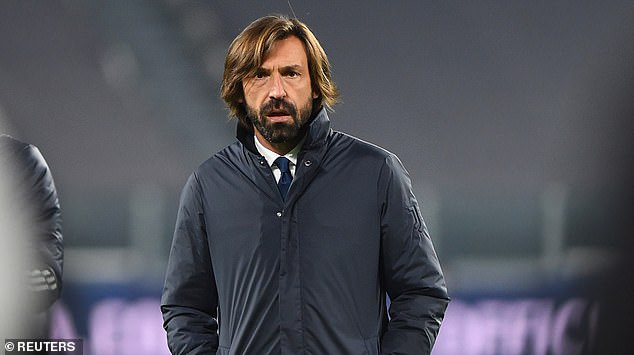 Juventus boss Andrea Pirlo could line-up with Van de Beek in his squad next season