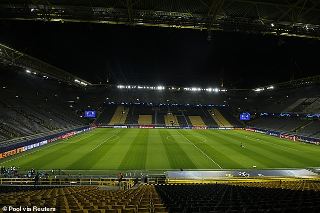 There had been speculation that the game would be played at Dortmund's ground next month