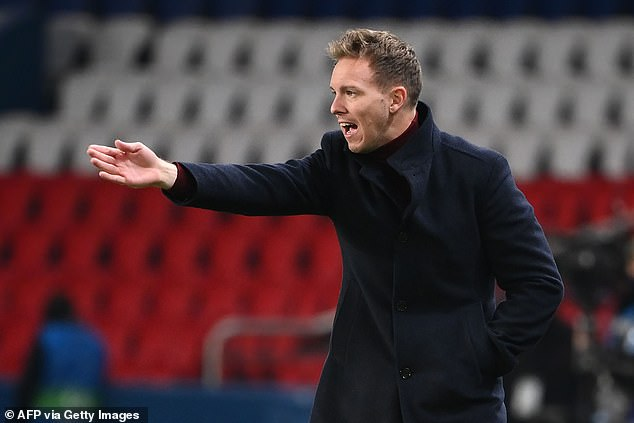 Julian Nagelsmann's RB Leipzig have also been linked with a move for the Spain U21 midfielder