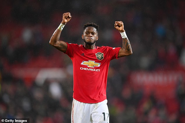 Manchester United midfielder Fred is on Conte's list of potential replacements for Eriksen