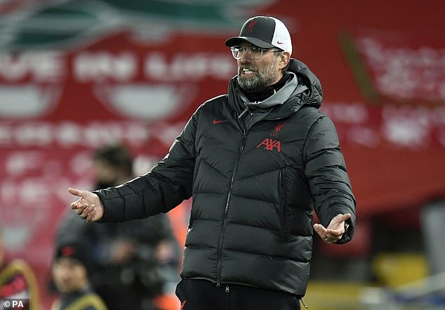 Klopp is unhappy with the fixture schedule but says his complaints don't seem to help