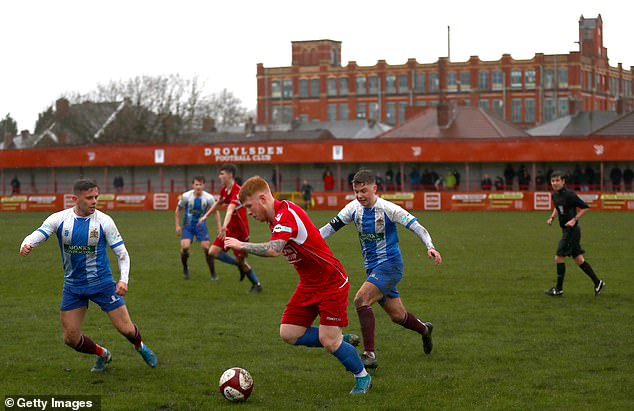 Levels below the National League are unsure if they will be able to resume their seasons next week