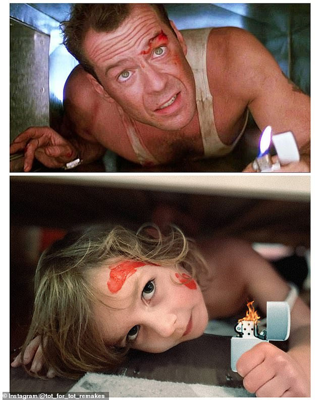 Die Hard: Whether you agree it's a Christmas movie or not, there's no denying that Matilda scrubs up pretty well as Bruce Willis in Die Hard