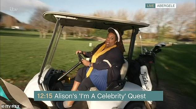 Langjähriges Teammitglied: Alison ist ein langjähriges Mitglied des This Morning-Teams, das bei der Präsentation von Segmenten in der Show immer beliebter wird