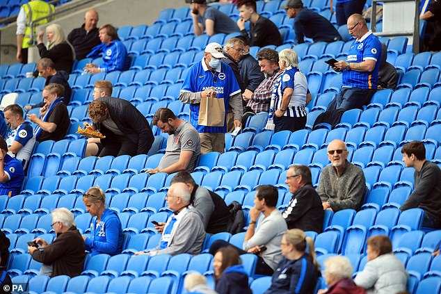 Brighton held a test event against Chelsea and showed fans could watch football safely