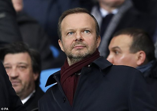 And Solskjaer admits Ed Woodward is unlikely to be busy given the current size of the squad