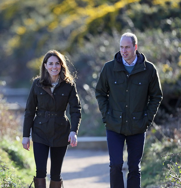 Earlier this year, she stepped out in a shirt from the new Alexa Chung collaboration with Barbour while visiting a local farm in County Meath