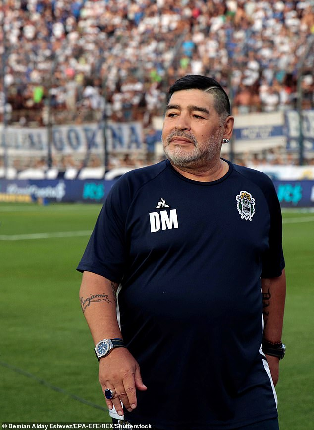 The Argentine club coached by Diego Maradona at the time of his death faced another blow on Friday as the star's backroom staff resigned en masse
