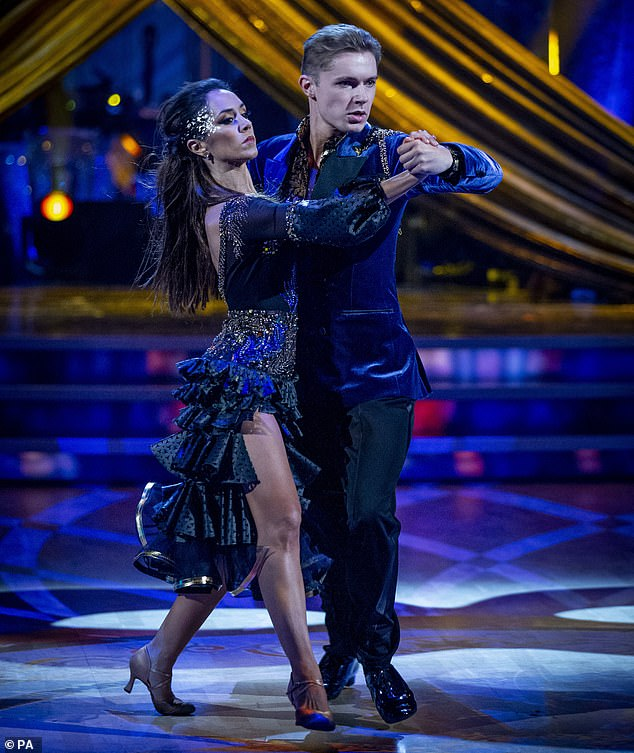 Challenges:The singer confessed he 'wasn't enjoying' the show as he struggled to learn the challenging routine, and credited Janette for helping him to escape the 'negative head space'