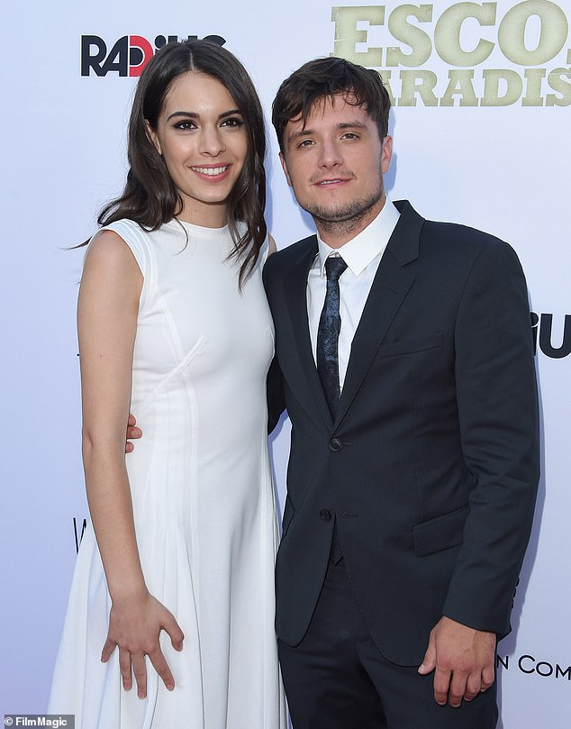 Co-stars: The couple first met on the set of Escobar: Paradise Lost, in which they both starred;  both are seen in 2015