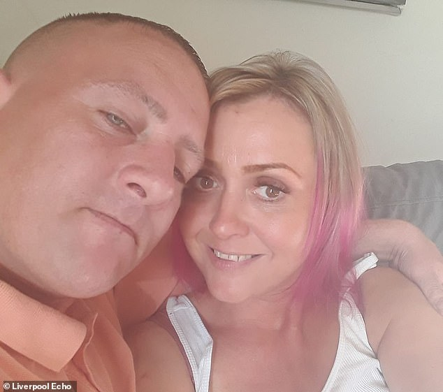 Serial crook Lee O'Neill (left) made a run for it after his girlfriendHelen Robinson (right) opened the door of the courtroom dock he was being held in after he was told he faced prison yet again for breaching a community order