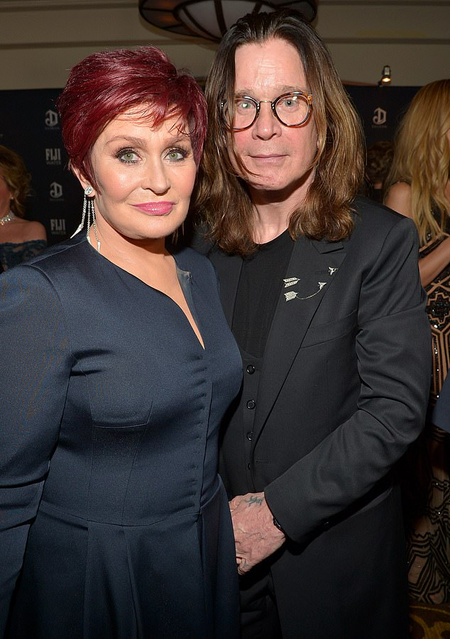 Marriage conflict: The Black Sabbath singer split from Sharon in May 2016, reportedly over an affair with his hairstylist Michelle Pugh; pictured in 2015