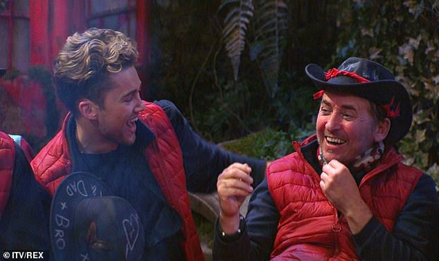 Awkward!Amid their cold war, Shane is set to do his fourth consecutive Bushtucker Trial as he was voted to enter the Chambers of Horror alongside AJ