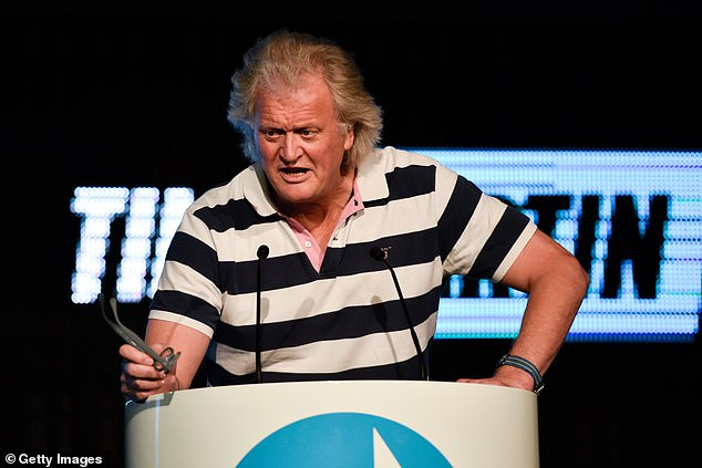 Wetherspoons' founder Tim Martin saying his firm will be forced to shut 366 of its 879 pubs when the tier system comes into operation