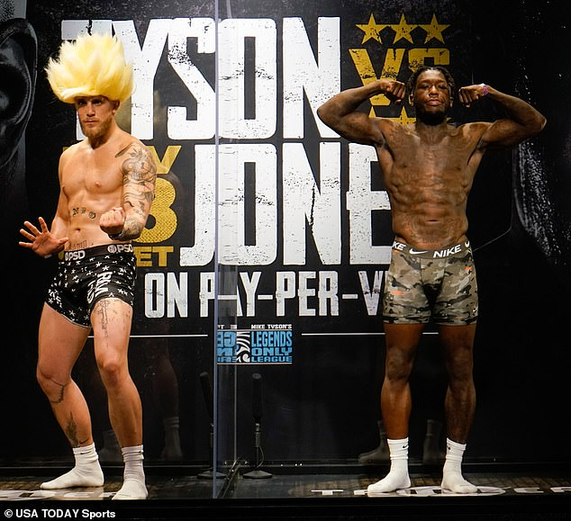 Cross-over match: in his second pro fight, YouTube star Jake Paul, 23, is taking on 10-year NBA veteran Nate Robinson, who's making his pro debut at the age of 36